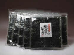 愛知三河産。濃厚な味。「飛びっきり焼海苔10枚」【10袋セット】
